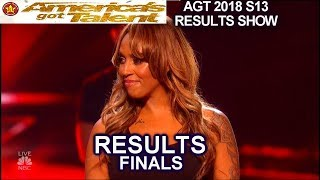 Results TOP 5 Zurcaroh Duo Transcend Glennis Grace Brian King | America's Got Talent 2018 Finale AGT