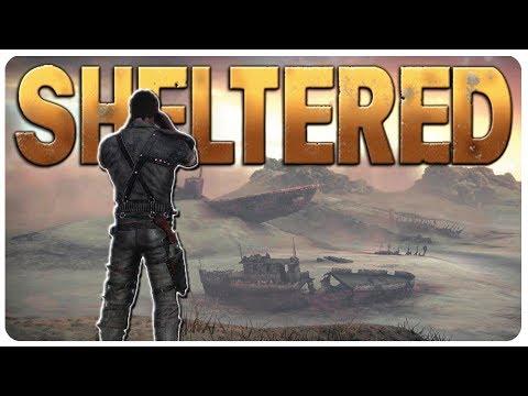 Bunker Entrance Defense + Trade Caravan! | Sheltered Gameplay 1.6 Update