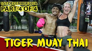 ROBYN'S TIGER MUAY THAI BEGINNER (PRIVATE CLASS) (PART 4 OF 4) - DAY IN THE LIFE SERIES