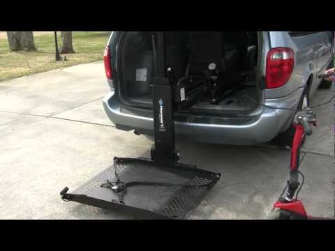 Harmar AL600 Power Wheelchair Lift - Used For Sale - 1