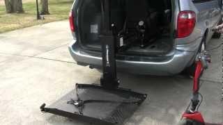 Harmar AL600 Power Wheelchair Lift - Used For Sale - 1