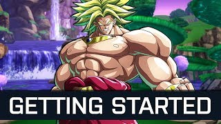 DragonBall FighterZ - Getting Started Broly