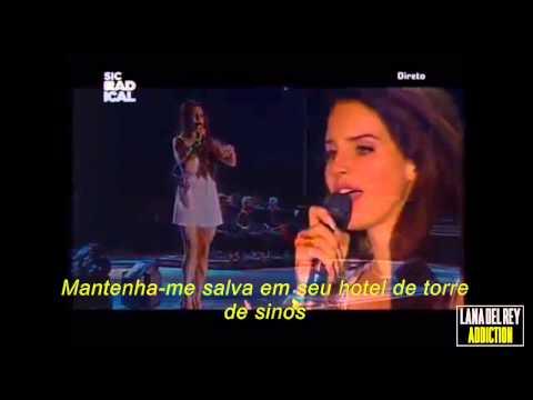 Lana Del Rey - National Anthem live at Super Bock Super Rock Festival legendado