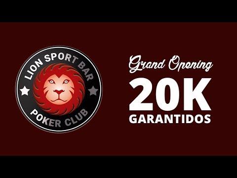 Torneio de Poker - 20K Garantidos Lion Sport Bar - Com Ney Bosco e Paulo Boo - AO VIVO de Campinas
