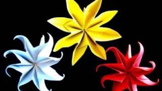 פרח יסמין מאוריגמי