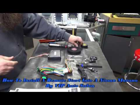 HOW TO INSTALL A REMOTE START INTO A NISSAN SUV