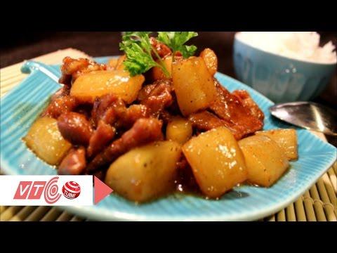 Củ cải kho thịt đậm đà đưa cơm | VTC