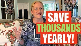 How I Save Thousands a year! Budgeting Tips for Everyone