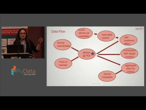Alice Broadhead | A pythonista's pipeline for large scale geospatial analytics