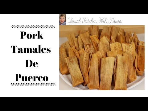 How To Make The Best Traditional Pork Tamales De Puerco/Cerdo ⎮Masa Para Tamales⎮Dough For Tamales