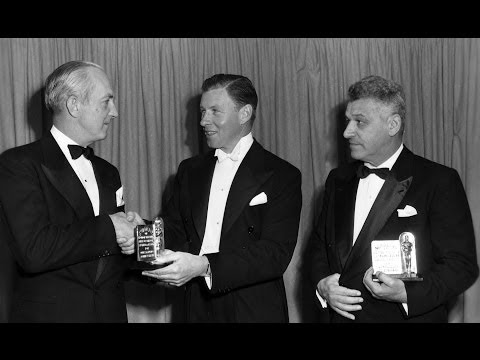 George Murphy presents Sci-Tech Awards in 1949