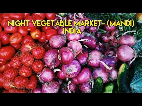 Night Vegetable Market I Mandi I India I