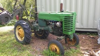 Bringing a 1950 John Deere Model M tractor back from the Dead!