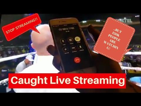 CAUGHT Live Streaming Anthony Mundine Vs Danny Green On Facebook