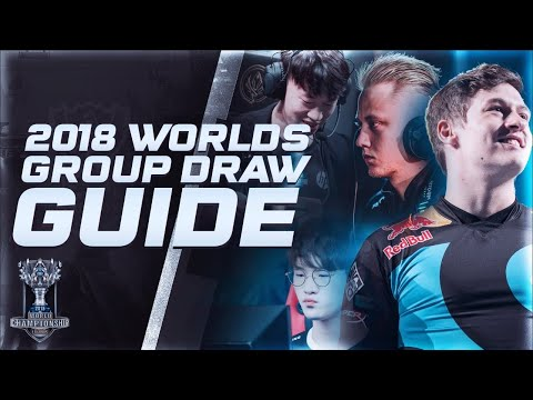 2018 League of Legends Worlds Group Draw Guide [ Loco Lets Loose ]