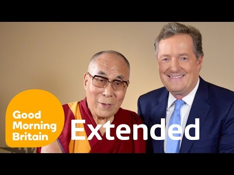 Dalai Lama Extended And Open Interview With Piers Morgan | G