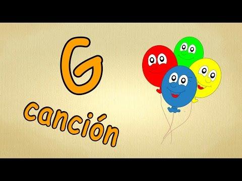 abc alphabet song en español | La letra G Cancion | canciones infantiles
