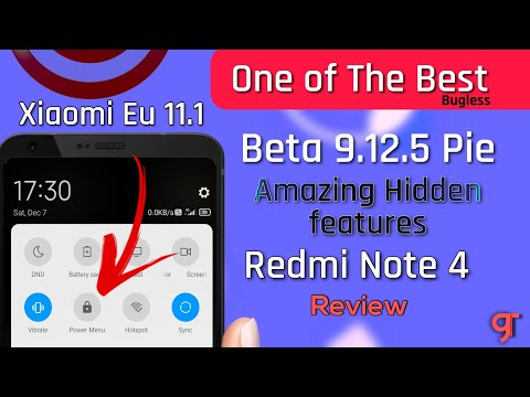 Xiaomi Eu 11.1 Beta 9.12.5 for Redmi Note 4X/4 Review - One of the Best ROM & Amazing Cool features