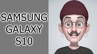 samsung Galaxy S10 - персональные эмодзи
