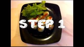 Cara mudah membuat Cilok - How to make Cilok (Chewy Balls Snacks) by Little Chef Abe