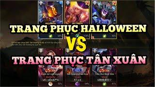 Long Tranh Hổ Đấu giữa Team Halloween Và Team Tân Xuân Ai sẽ dành chiến thắng ? Liên quân mobile