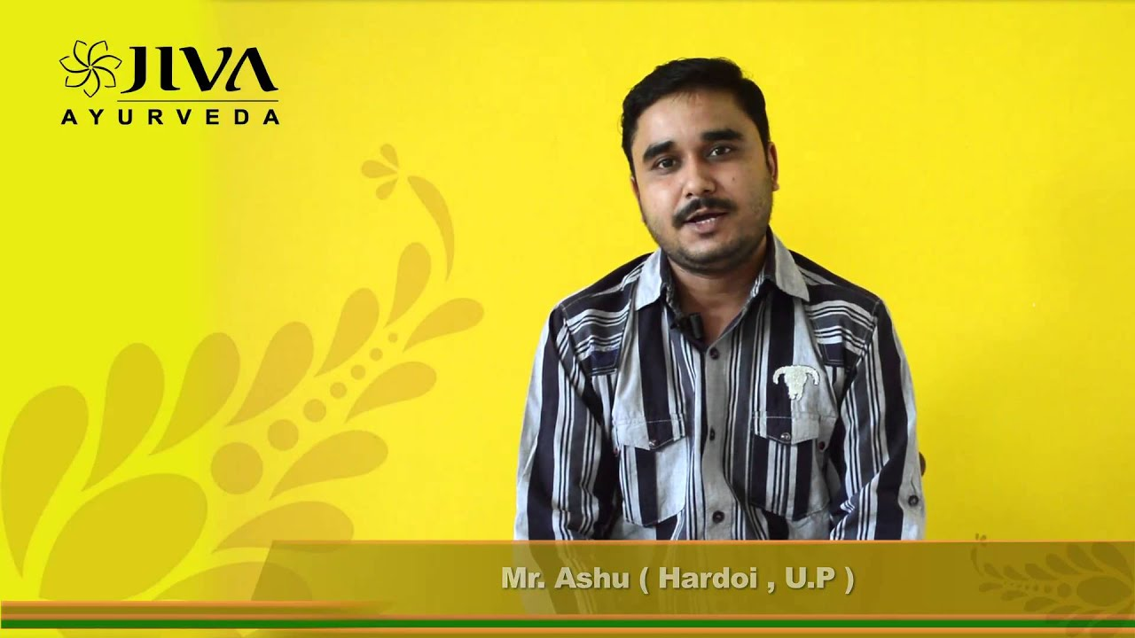 Mr  Ashu's Healing Story at Jiva Ayurveda - Treatment of Muscle & Nerve Pain