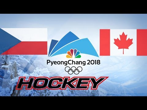 CZECH REPUBLIC vs CANADA, BRONZE MEDAL, OLIMPICS GAME 2018...