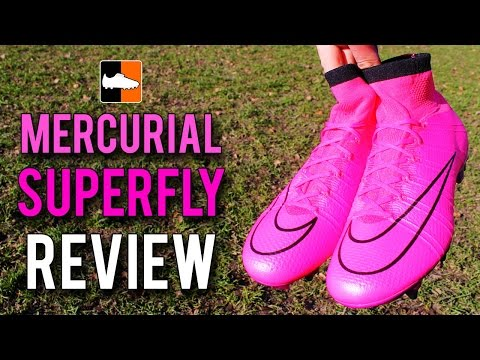 Pink Nike Mercurial Superfly Soft Ground Review - Lightning Storm