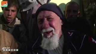 توزيع مساعدات غذائية لسكان شرق الموصل