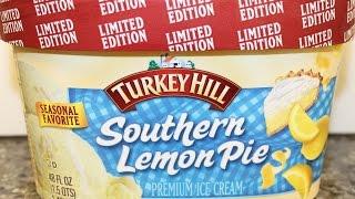Turkey Hill: Southern Lemon Pie Ice Cream Review