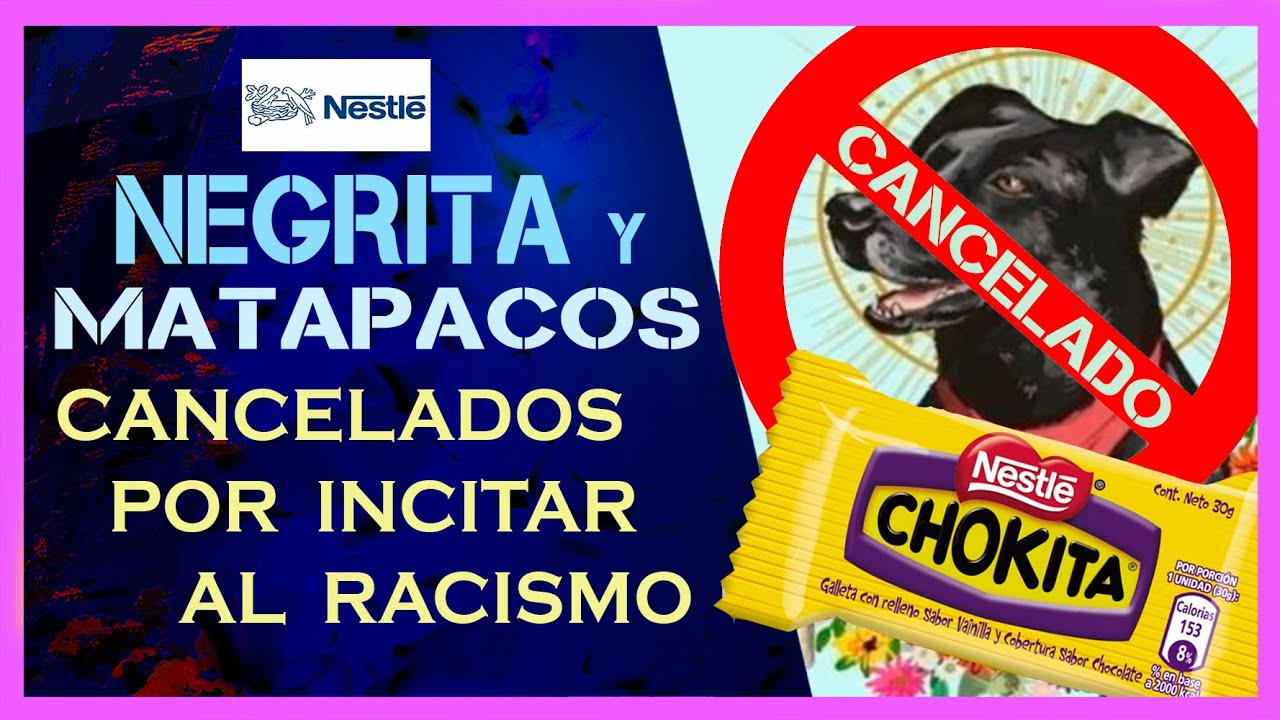 Cancelan La NEGRITA y al NEGRO MATAPACOS por incitar la discriminación