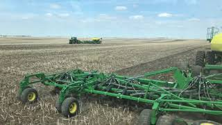Ely Farms John Deere 9620RX with 61ft 1830