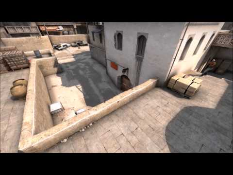 Counter Strike GO: Unbelievable Ace by 정신 분석오리 on Dust2