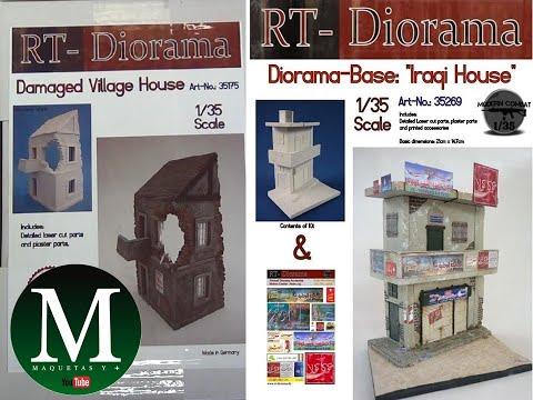 "Download Damaged Village House y Diorama-Base ""Iraq House"" (RT-Diorama 1:35)"