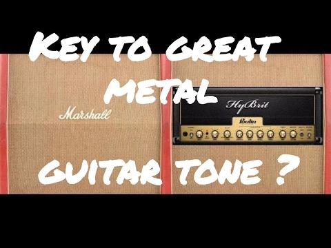 2# Key to great metal guitar tone ? Lepou HyBrit + Rosen Digital IR (FREE AMP VST)