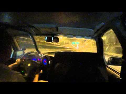 Late Night Taxi Ride Shanghai China