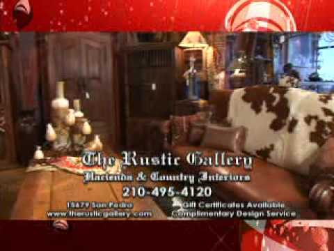 The Rustic Gallery San Antonio TX   YouTube