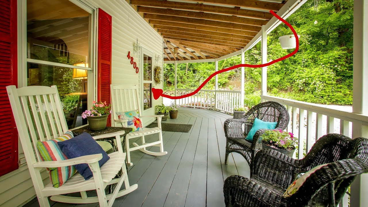 716 Mo Beautiful 4 Br Home W Wrap Around Porch Woodstove Heavily Wooded 1 8 Acres Youtube