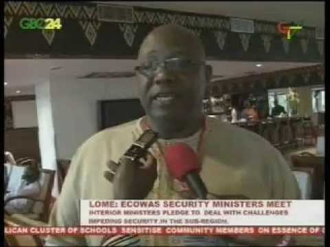 Lome: ECOWAS Security Ministers Meet