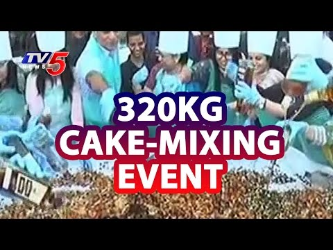 Actress Anisha Ambrose Participates in Cake- Mixing Event at Vizag | TV5 News