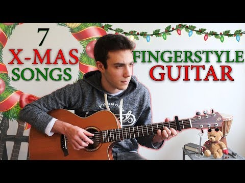 7 Awesome Christmas Songs for FINGERSTYLE Guitar
