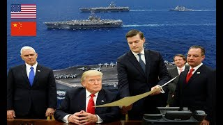 Trung Quốc giãy nãy Mỹ tung 4 đòn chiến lược kìm hãm TQ trên biển Đông trong năm 2018