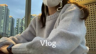 Vlog | 직장인 브이로그 | 출근룩 | 클락스 프레…