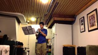 Brendan Chin - Northeastern Music Scholarship Audition