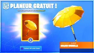 "VOICI the FREE PLANEUR ""EXCLUSIVE"" on Fortnite!"