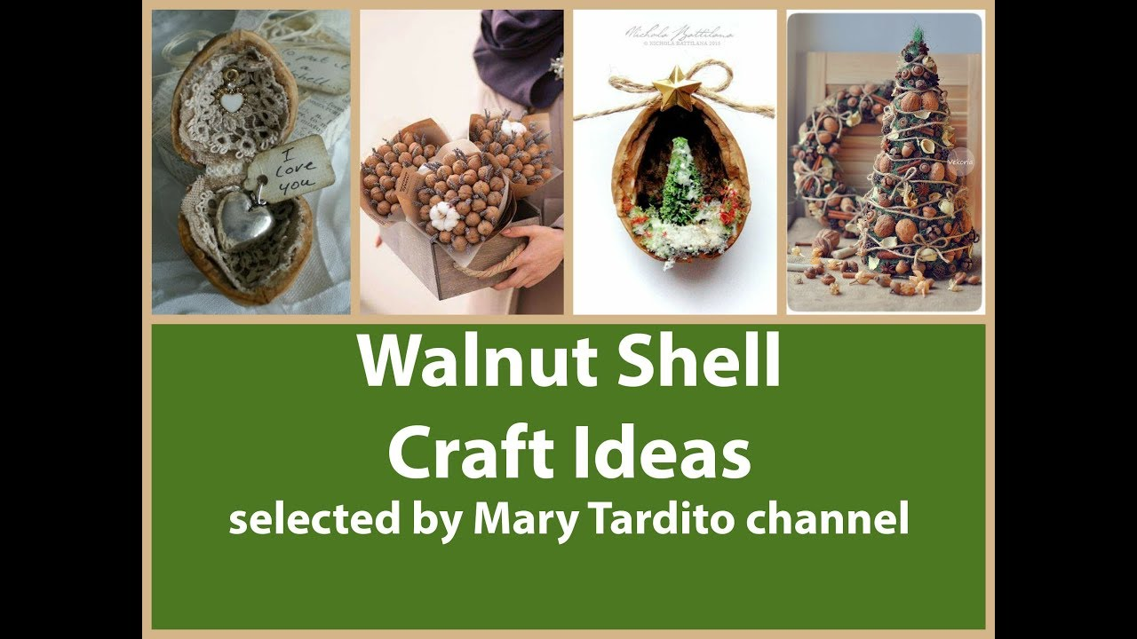 Walnut Shell Crafts Ideas Nature Crafts To Make And Sell Walnut