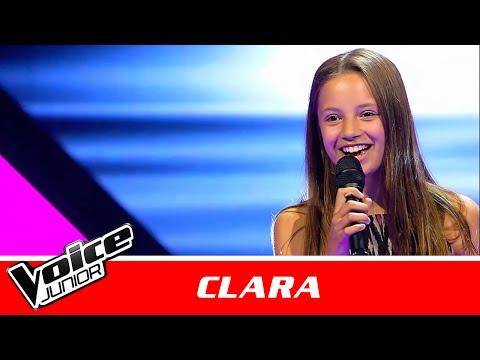 "Clara | ""Better Place"" af Rachel Platten | Blind 1 | Voice Junior Danmark 2016"