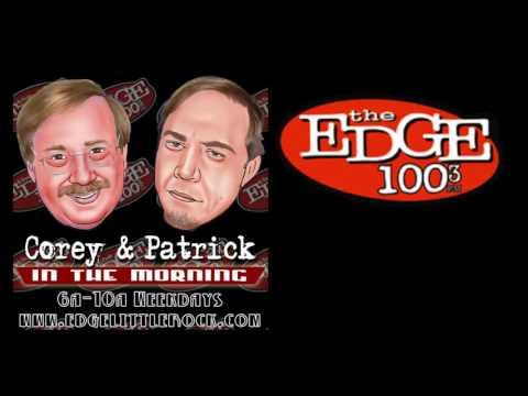 Corey and Patrick 100.3 the Edge 8-31-16