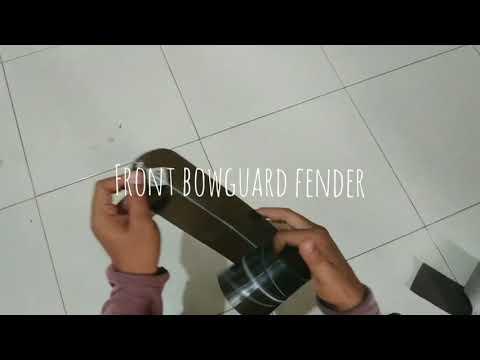 Front bowguard fender