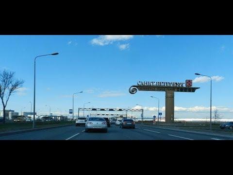 видеообзор дороги Минск - Санкт-Петербург 2018(через Полоцк)
